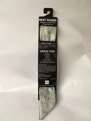 Heat Guard Cooling Tie - Smoke -  Handmade in Canada