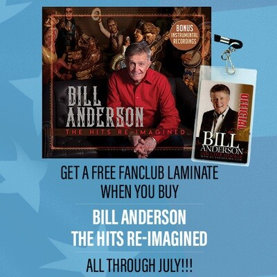 Bill Anderson Hits Re-Imagined