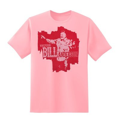 2017 Bill Anderson Tee Pink
