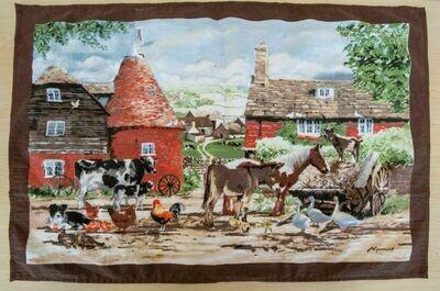 COUNTRY LIFE TEA TOWEL