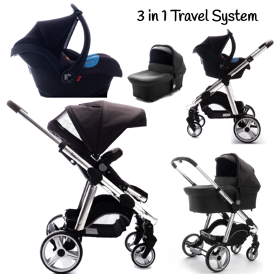 BC 3 in 1 Travel System