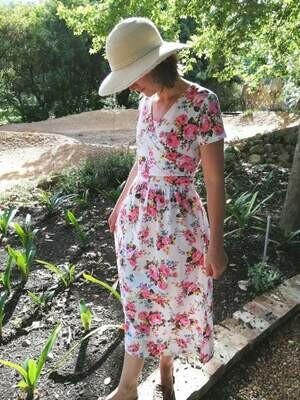 Country Rose Dress - Nursing Friendly