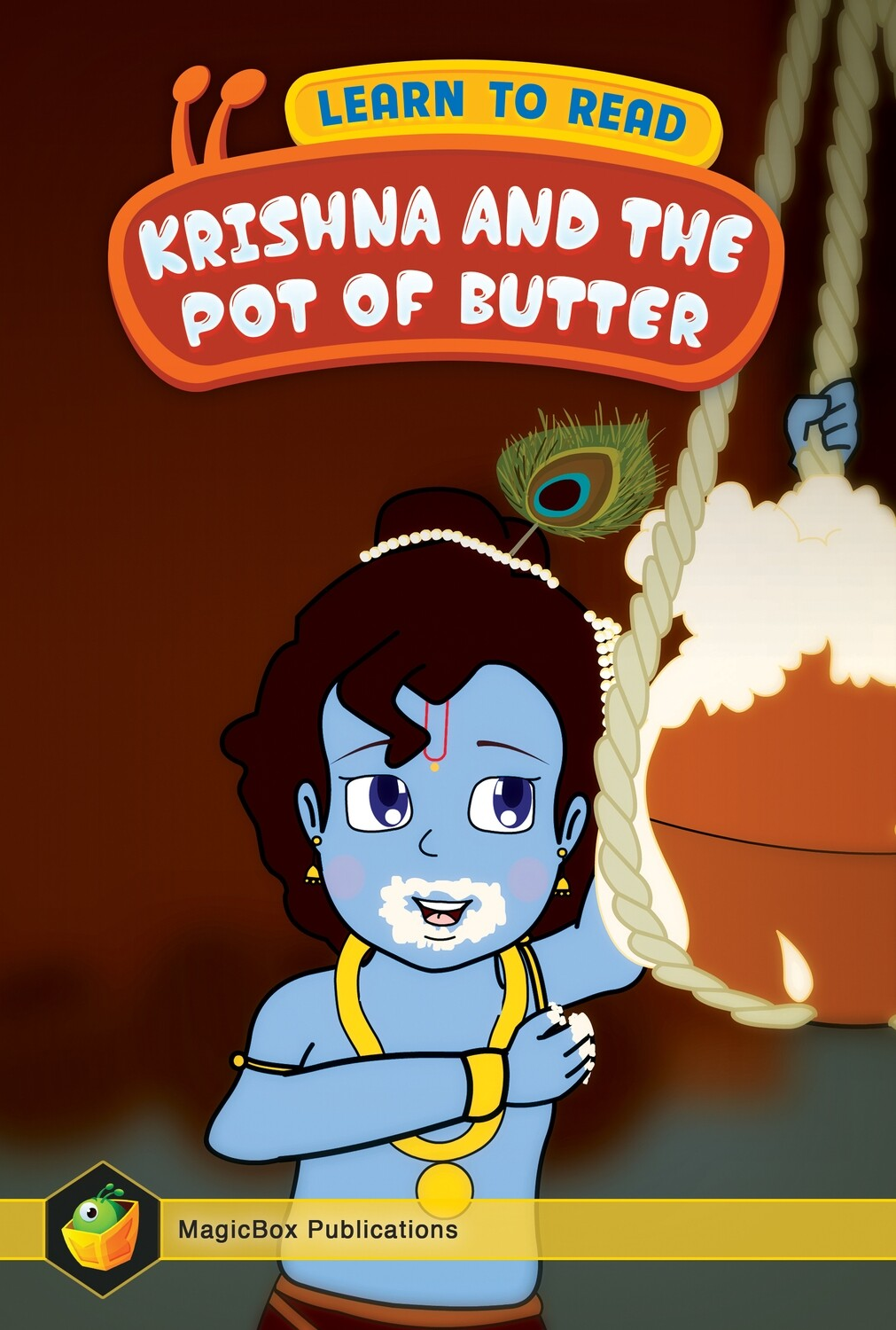 Krishna And The Pot Of Butter