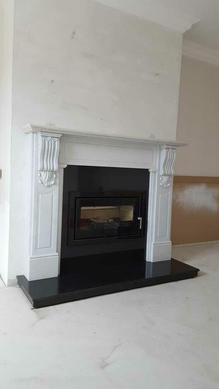 The grande William fireplace