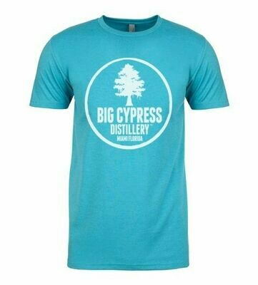 Blue Big Cypress Distillery Miami T-SHIRT