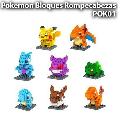 Bulbazur Pokemon Lego Mini Blocks Rompecabezas Armable - Sexmentales