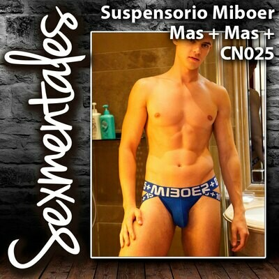 Suspensorio Más Mas´Algoon Talle Corto CN025  Sexmentales