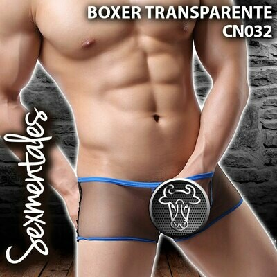 Boxer Transparente CN029 - Sexmentales