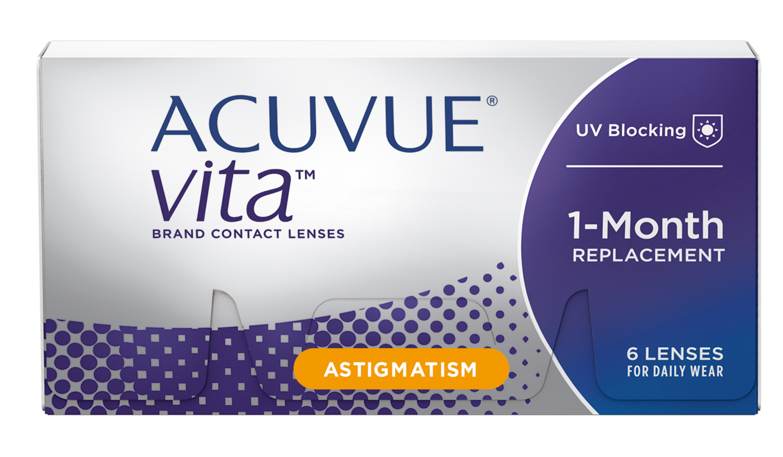 ACUVUE® VITA® for ASTIGMATISM