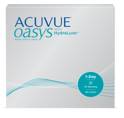 ACUVUE OASYS® with HydraLuxe™ Technology 1-Day
