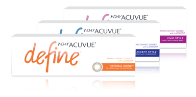 1-DAY ACUVUE® DEFINE® with LACREON®