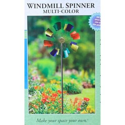Multi Color Pinwheel Lawn Decoration