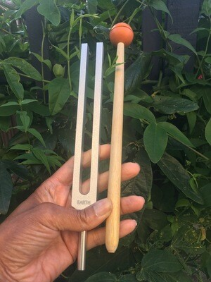 TUNING FORK 194.18HZ to ground,  energise and uplift