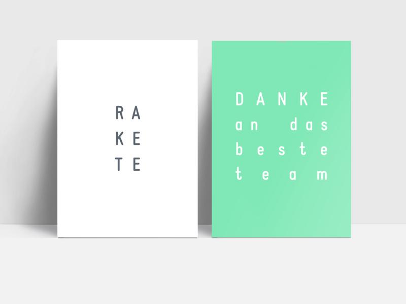 Postkarten Set für TEAMS