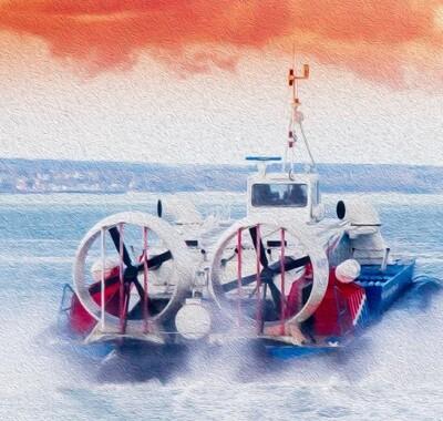 Судоводитель маломерного судна особой конструкции (амфибийное судно на воздушной подушке)