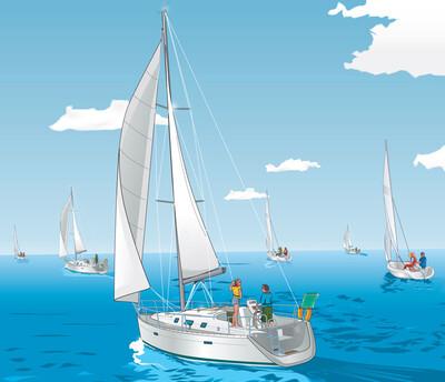 Судоводитель маломерного парусно-моторного судна. Районы плавания внутренние водные пути, Внутренние морские воды и территориальное море РФ