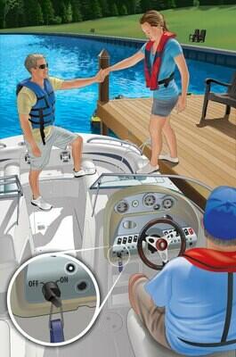 Водитель гидроцикла. Судоводитель маломерного моторного судна. Район плавания морские прибрежные воды до 20 миль от берега