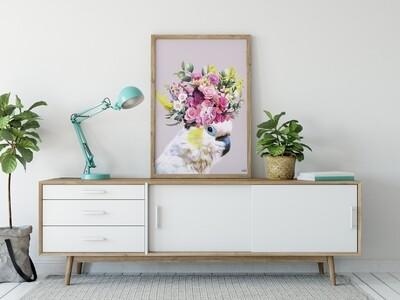 Pretty cockatoo Print