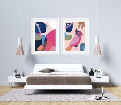 Bright Abstract Print