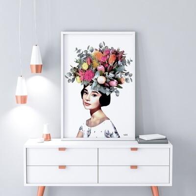 Audrey Print
