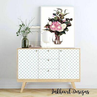 Maisy Vase Print