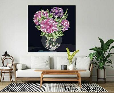 Glass Vase Print