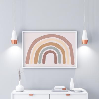 Rainbow (landscape) Print