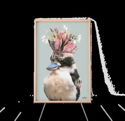 kookaburra Queen Print
