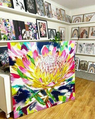 125cm x 125cm Canvas Print