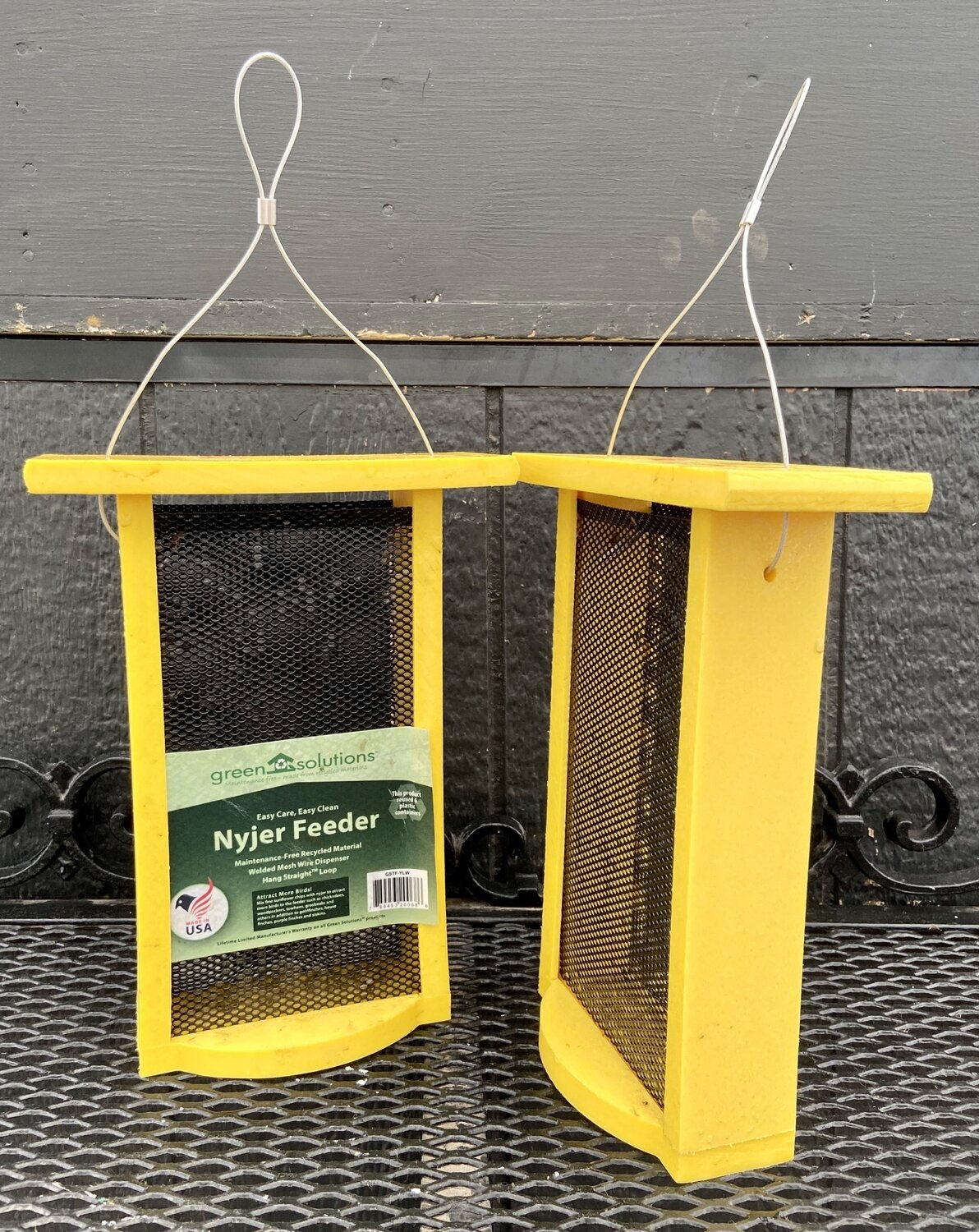 Yellow Nyjer Seed Feeder