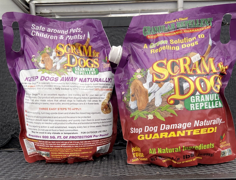 Dog Scram - 3.5 lb