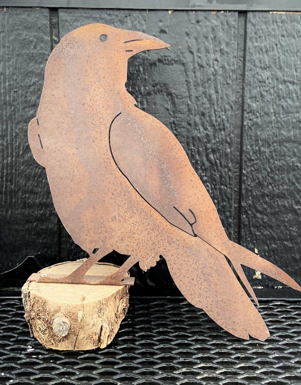 Metal Fence or mantle Birds