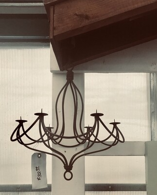 Rust Mini Chandelier