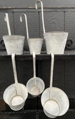 Ladle Pots Set of 3