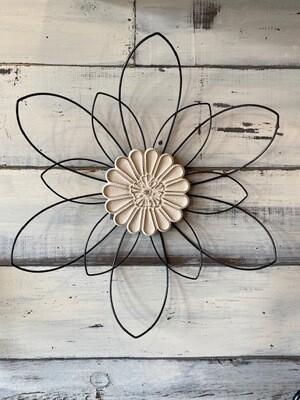 Wire Flower Indoor Decor