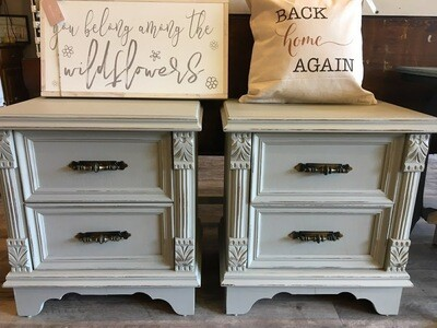 Bedford Nightstands - SOLD