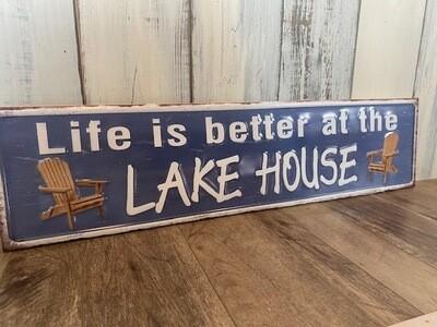 Lake House Sign