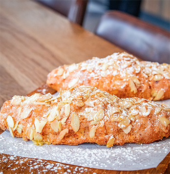 4 BAKED ALMOND CROISSANT