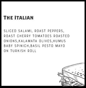 The Italian + 1 Side