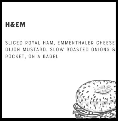H&EM Bagel + 1 Side