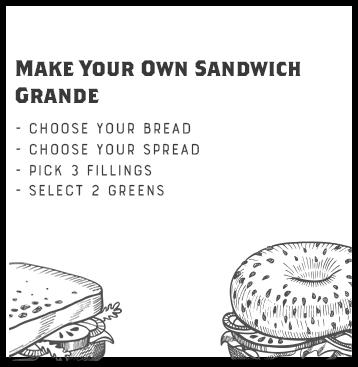 Make Your Own Sandwich (GRANDE)