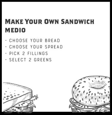 Make Your Own Sandwich (MEDIO)