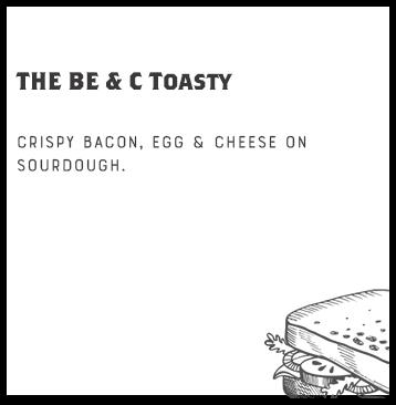 THE BE & C Toasty