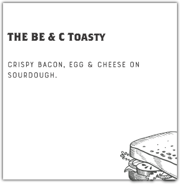 THE BE & C Toasty
