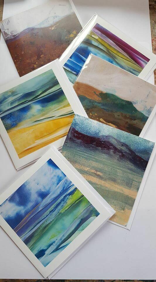 Cards - Hebridean Landscape - Pack 6