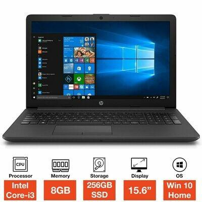 HP 250 G7 Core i3-7020U 8GB RAM 256GB SSD 15.6inch Full HD Windows 10 Home Laptop Grey