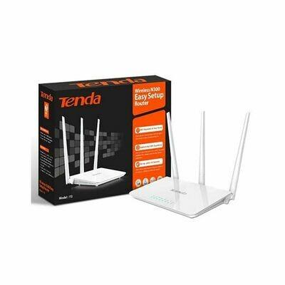 TENDA F3 Wireless 4 Port DSL 300Mbps Router