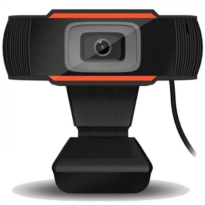 720P HD Webcam with Microphone - USB Interface