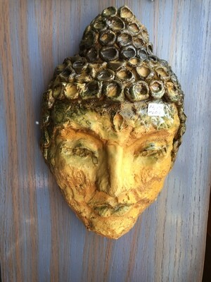JM602 Clay Buddha Wall Decor