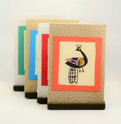 Peackock Card